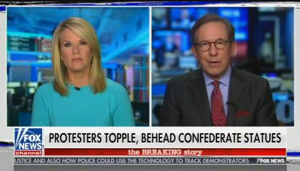 Chris Wallace compares the removal of Confederate statutes to Mao's Cultural Revolution