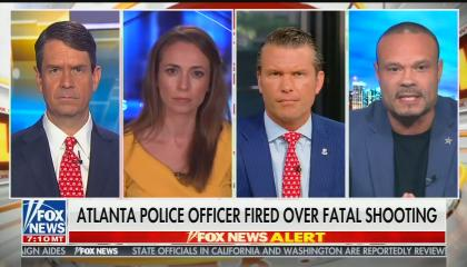 Fox & Friends weekend hosts with contributor Dan Bongino