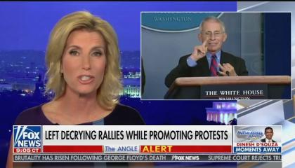 """Laura Ingraham calls Dr. Fauci part of """"the medical deep state"""""""