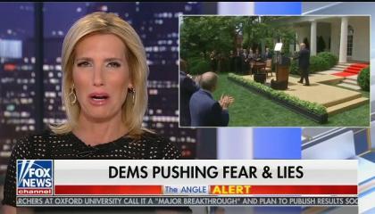 "Laura Ingraham: Democrats are calling Trump racist ""with zero evidence"""