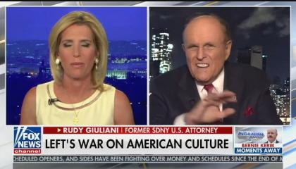 "Fox guest Rudy Giuliani: ""Black Lives Matter wants to come and take your house away from you"""