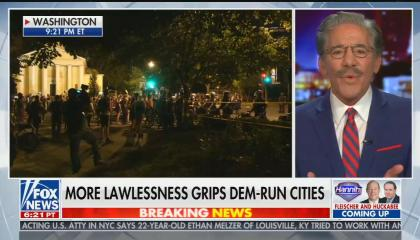 "chyron reads: ""More lawlessness grips Dem-run cities"""