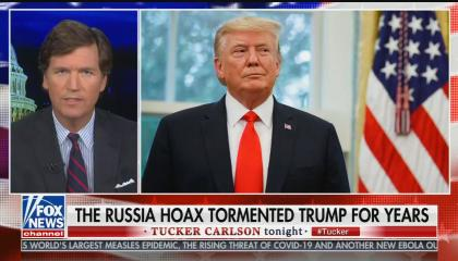 Tucker Carlson says Trump couldn't deliver promises because he was tired from the Russia hoax
