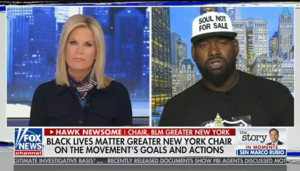"Fox News propped up a ""Black Lives Matter leader"" who has no affiliation with the official group to spread lies about it"