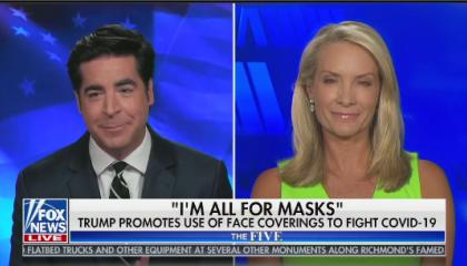 Jesse Watters hosts The Five on Fox