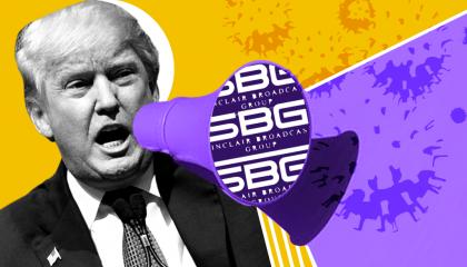 Donald Trump's coronavirus lies on Sinclair Broadcast Group TV
