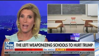 "Laura Ingraham says talking about rising COVID infection numbers is selling ""panic porn"""