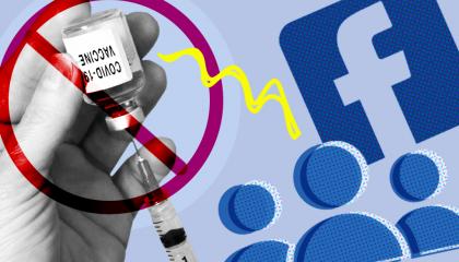 Facebook coronavirus vaccine misinformation