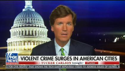 Tucker Carlson says Don Lemon doesn't care about police shootings because it doesn't affect him