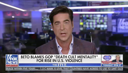 Jesse Watters hosts The Five on Fox News