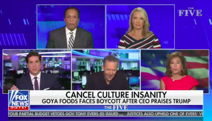 Fox News's The Five on July 9th, 2020
