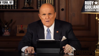 Rudy Giuliani warns BLM will take property from white people and give it to Black people
