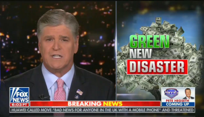 Fox gives Joe Biden's climate plan the Green New Deal treatment