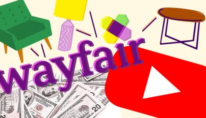 Wayfair YouTube image