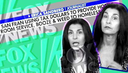 Erica Sandberg and Fox News homelessness image