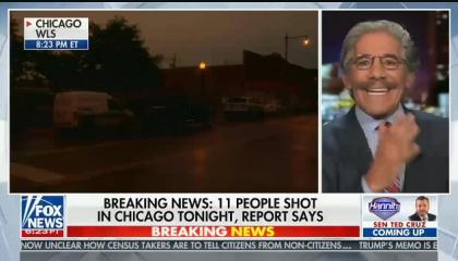 "Fox's Geraldo Rivera calls violence in Chicago ""a ghetto circular firing squad"""