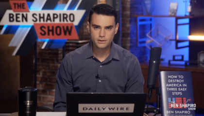 """Ben Shapiro says empathy is """"bad for politics"""" because it makes people irrational"""
