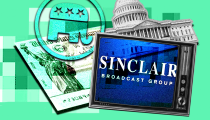 Sinclair Broadcast Group's coverage of Republican payment proposals