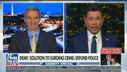 "Fox's Jason Chaffetz: Democrats ""are okay with rioting and domestic terrorism"""