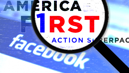 America First Action PAC Facebook ads
