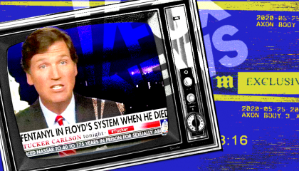 Tucker Carlson peddling lies about George Floyd's death