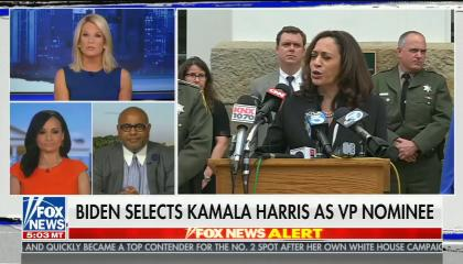 """Fox's """"straight news"""" anchor says picking a Black woman as the vice presidential nominee """"takes away from some of the selection"""""""