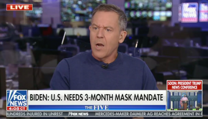 "chyron reads, ""BIDEN: U.S. NEEDS 3-MONTH MASK MANDATE"""