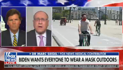 "Right-wing media freak out over ""tyrannical"" Biden proposal for nationwide mask mandate"