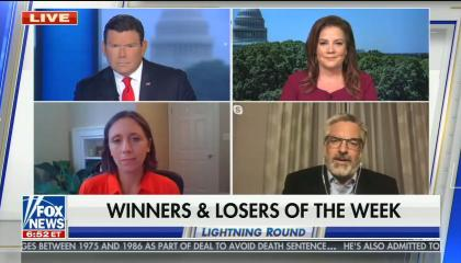 "Fox News guest delcares QAnon a ""winner"" of the week for the Republican Party's failure to condemn the conspiracy theory"