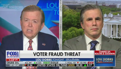 Lou Dobbs speaks to Tom Fitton on Lou Dobbs Tonight