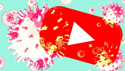YouTube coronavirus image