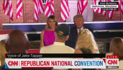 CNN's coverage of the 2020 Republican National Convention