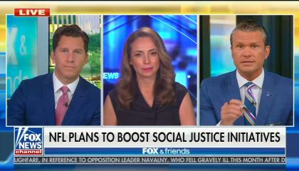 Fox & Friends Weekend hosts Will Cain, Jedediah Bila, and Pete Hegseth
