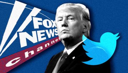 Trump Fox live tweets