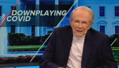 Pat Robertson criticizes Donald Trump for agreeing to be interviewed by Bob Woodward