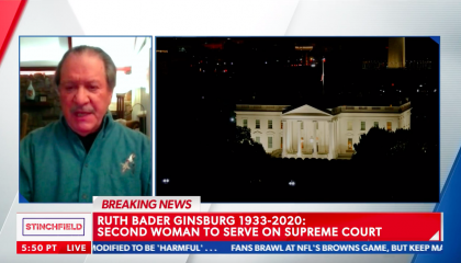 "Joe diGenova on replacing Ruth Bader Ginsberg:  ""We won, you lost, get over it."""