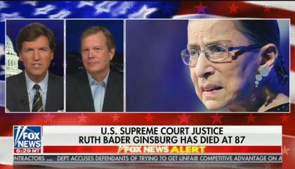 "Tucker Carlson: ""I'm going to choose not to believe"" Ruth Bader Ginsburg's dying wish to not be replaced by Trump"