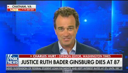Fox News contributor says Ruth Bader Ginsburg didn't belong on the Supreme Court