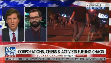 Tucker Carlson compares Black Lives Matter to Hezbollah