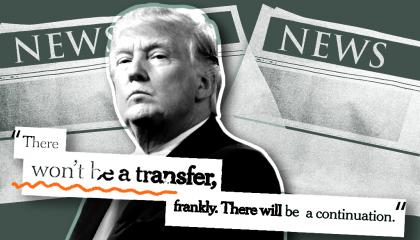 trump transfer of power