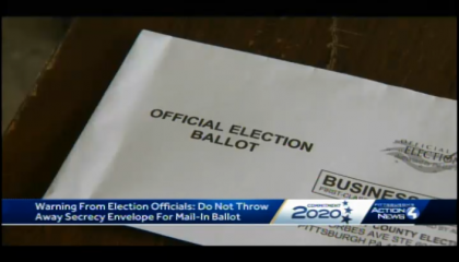 "Local news coverage of Pennsylvania's ""naked ballots"" court ruling"