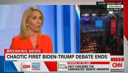 "Jake Tapper: ""It wasn't even a debate. It was a disgrace. And it's primarily because of President Trump"""
