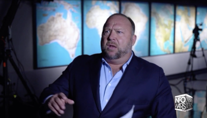 Alex Jones says someone might have poisoned Trump's Diet Coke and told him he has COVID