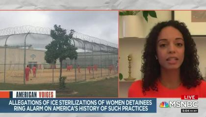 Guest discusses hysterectomies on MSNBC American Voices with Alicia Menednez
