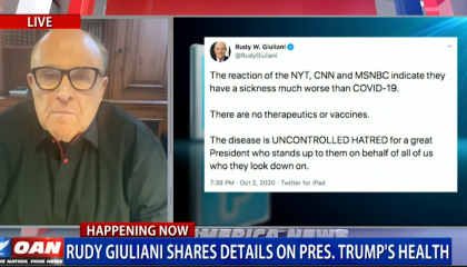 Rudy Giuliani on OANN