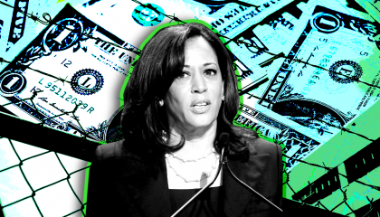Right-wing media use Kamala Harris' previous support to demonize cash bail funds