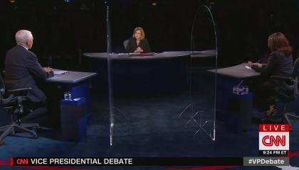 Page Pence debate