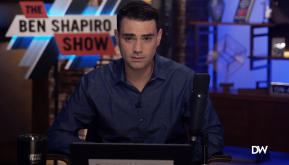 Ben Shapiro suggests Joe Biden will use a teleprompter during a virtual presidential debate