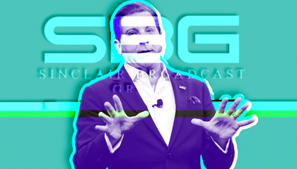 Sinclair host Eric Bolling