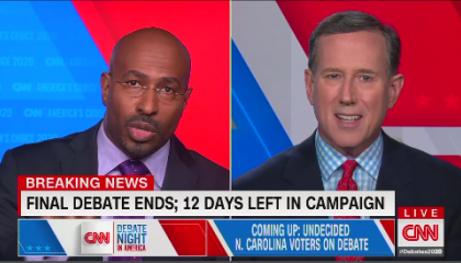 Rick Santorum and Van Jones on CNN